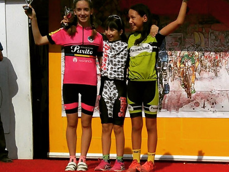 Enric Bregolat y Candela Alvarez suben al podium en el 3º Ciclocross de Guissona