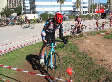 Roger Delgado y Enric Bregolat octavos en el ciclocross infantil de Sant Joan Despí