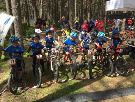 Los niños y niñas de la Escuela Purito consiguen 5 podios en el Open de Andorra de BTT Infantil