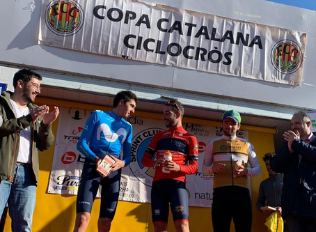 Oliver Avilés (Andbank La Purito Team) se impone en categoría Elite en el ciclocross de La Seu d&#39