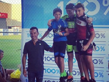 Gerard Mora sube al podio en la Copa Catalunya Infantil de Ruta - Tondo Kid's