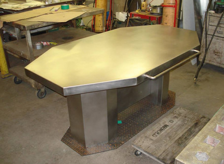 Stainless Steel Table for Hollywood!
