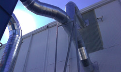 HVAC Exhaust Duct