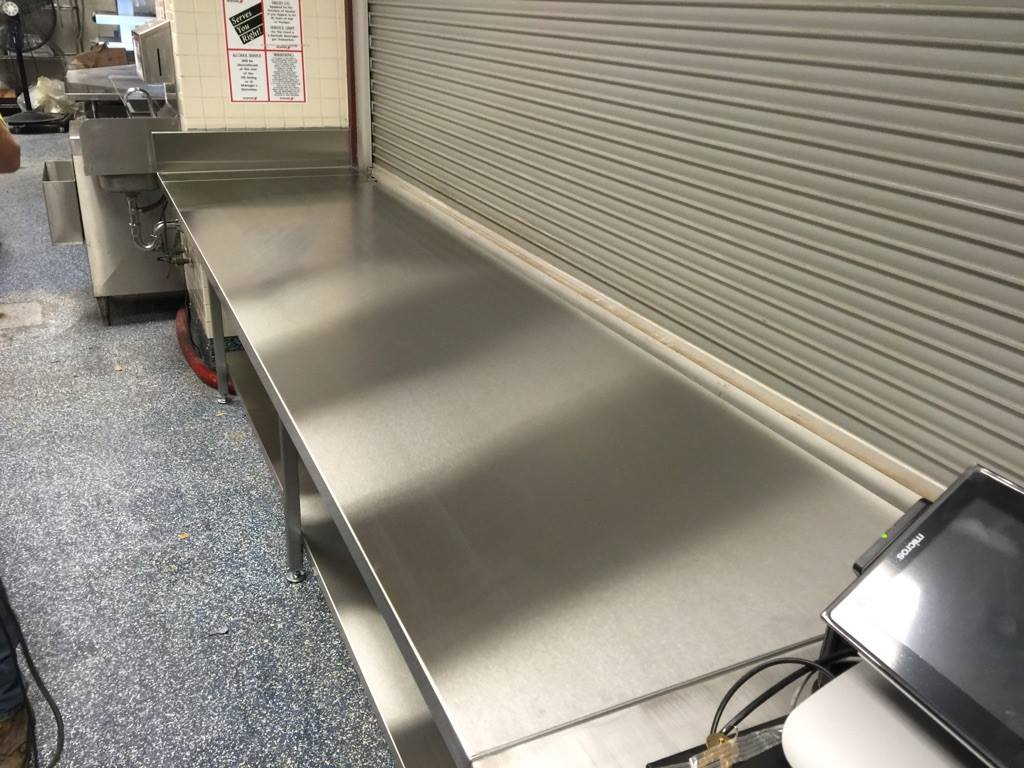 stainless steel countertop 2