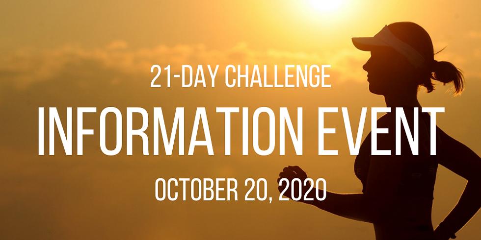21 Day Challenge: Information Event