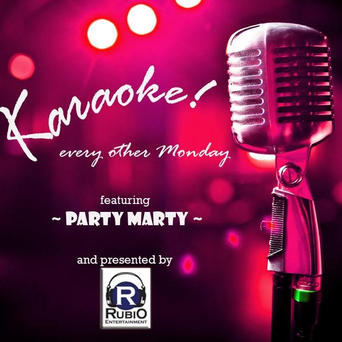 Karaoke every other Monday Night!