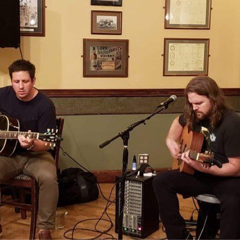Brandon Henderson and Taylor Biskup are back at the Pub! Parking Lot Party!