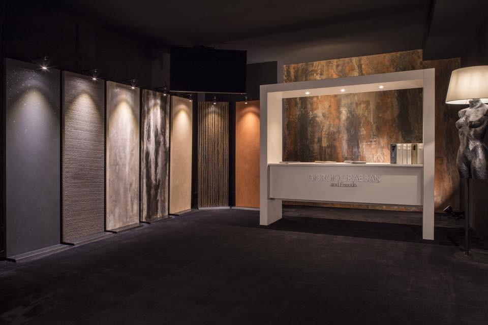 Giorgio Greasan and friends sitt showrom i Italia