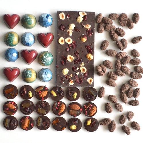 Father's day gift set by Anastassia Chocolates