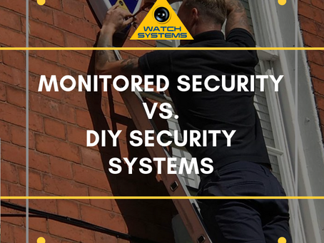 Monitored Security  vs. DIY Security Systems