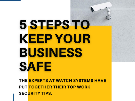 5 Steps to Keep Your Business Secure