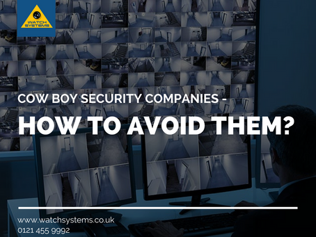 Cow Boy Security Companies – How to Avoid them?