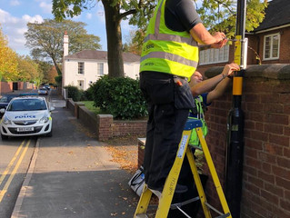 Watch Systems assisted The Edgbaston Neighbourhood West Midlands Police!