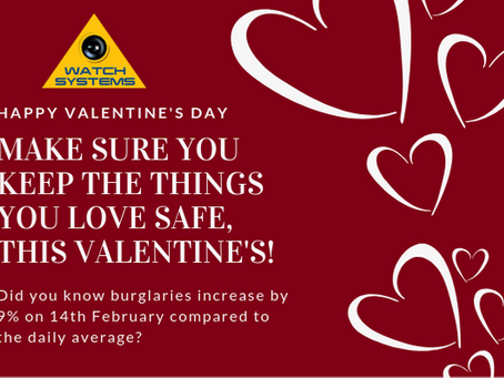 Make sure you keep the things you love safe, this Valentines!