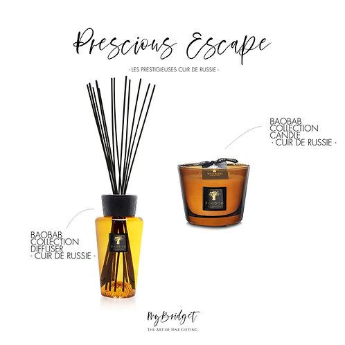 MyBridget Geschenkset BAOBAB COLLECTION Cuir de Russi Elegantes Geschenk