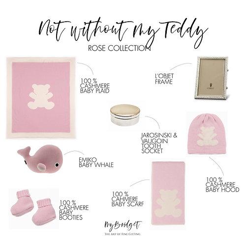 MyBridget Luxus-Collection Geschenkset für Babies und Neugeborenen. Feinste Materialien. Handgemacht.