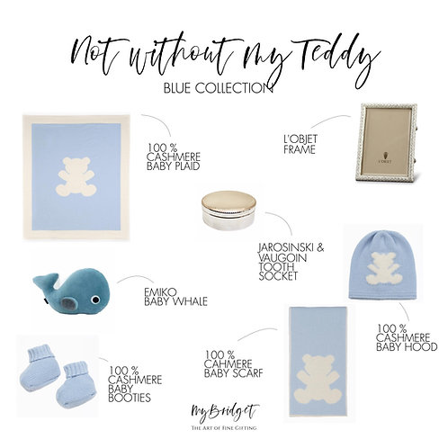 MyBridget Luxus-Geschenkset fürs Baby und Neugeborene zu Geburt, Taufe, Weihnachten