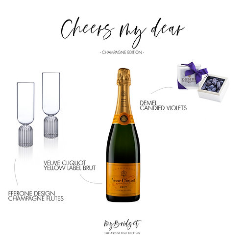 CHEERS! MY DEAR CHAMPAGNE EDITION