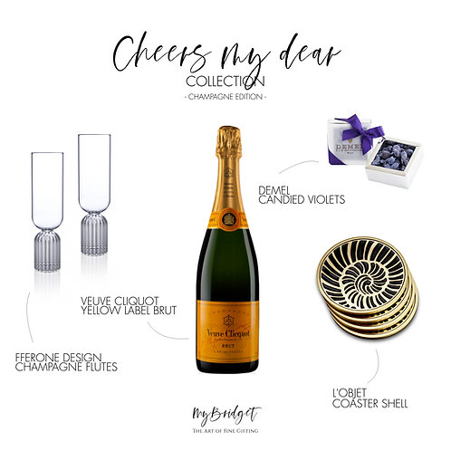 CHEERS! MY DEAR COLLECTION CHAMPAGNE EDITION