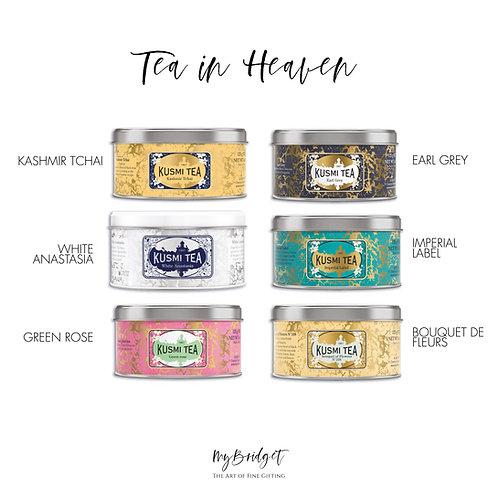 MyBridget KUSMI TEA Nobles Geschenk Geschenkset für Teeliebhaber für Weihnachten, Freundin, Mutter