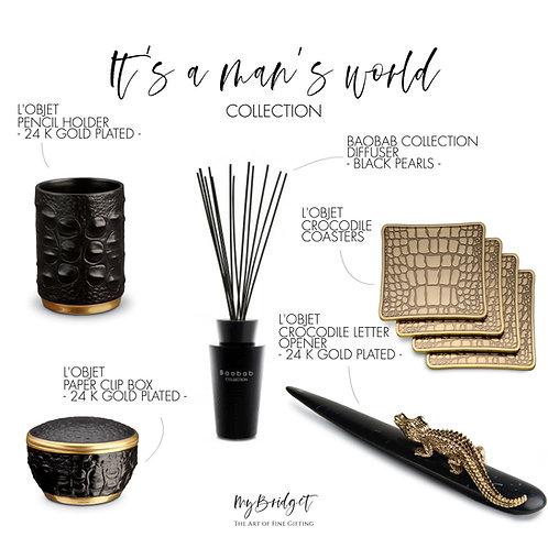 MyBridget Exklusives Geschenke für stilvolle Männer. Luxuriöse Büroaccessoires.