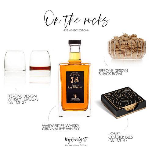 MyBridget Luxus Geschenkset für stilvolle Männer mit Whisky