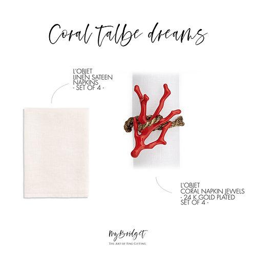 CORAL TABLE DREAMS