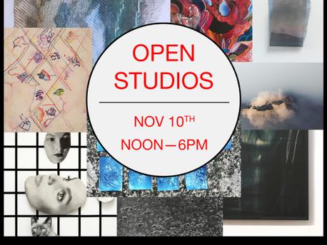 Oakland Open Studios: Saturday November 10th, 12-6pm