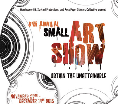 "Warehouse 416 ""Small art Show"""