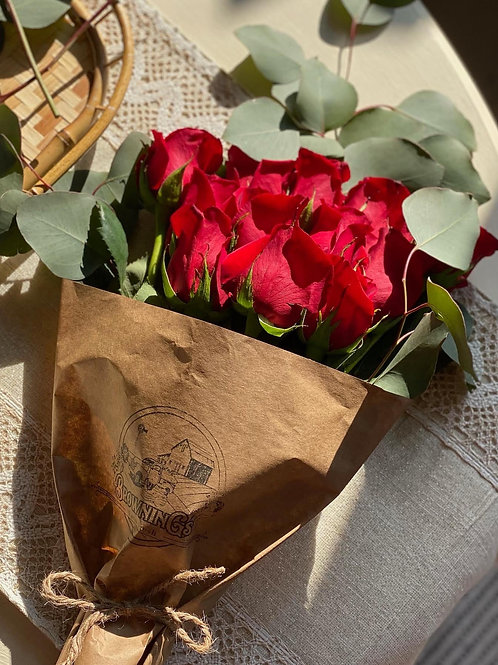 A dozen roses for Valentines Day