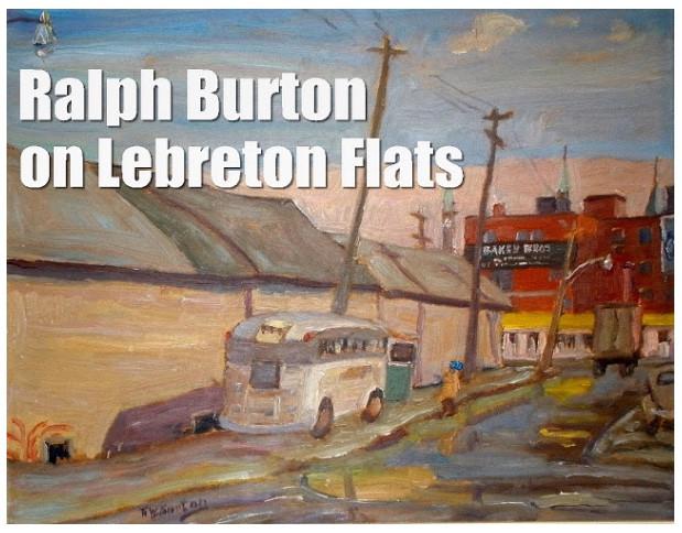 Ralph Burton on Lebreton Flats