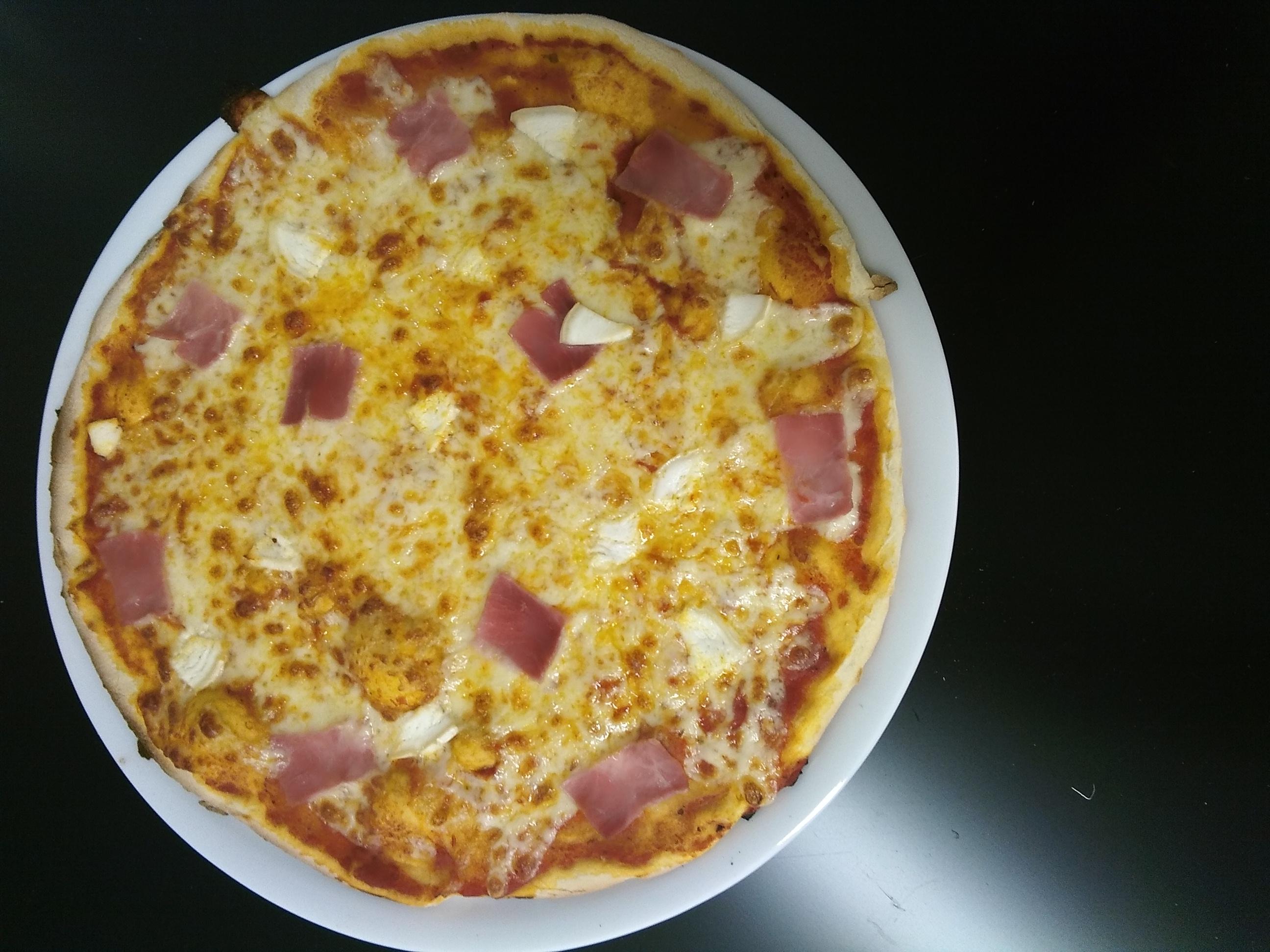 pizza aux choix
