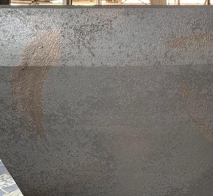 鉄のような表面