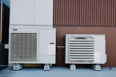 空調機器の設備工事