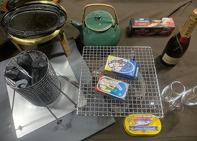 火鉢に必要な道具