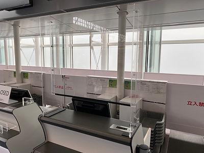 羽田空港国際線ターミナル設置パネル