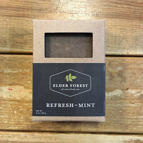 Refresh-Mint Handmade Soap