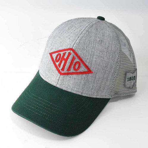 Vintage Ohio Diamond Hat
