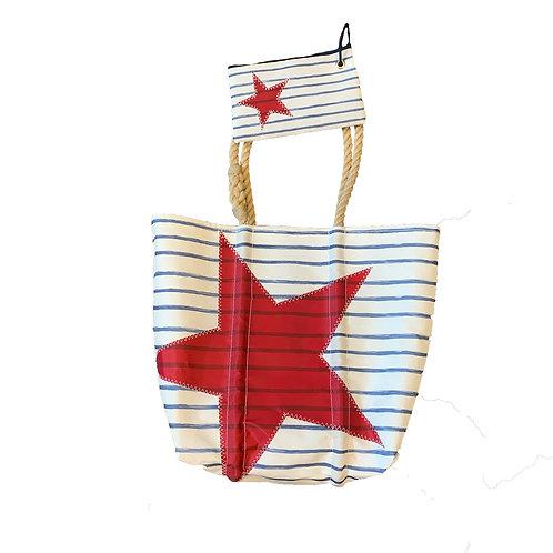 Seabags Breton Stripe and Star Tote
