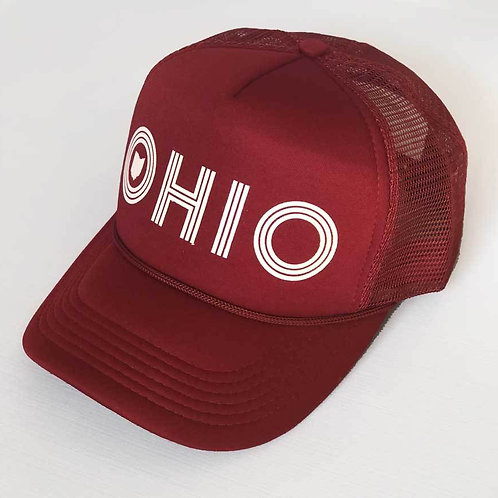 Ohio Foamy Trucker - 2 Colors!