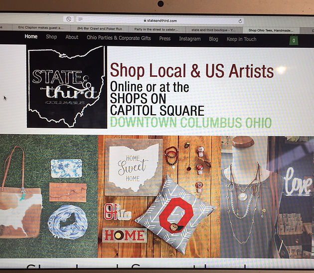S&T Marketplace is at your service | Shop Ohio Tees, Handmade