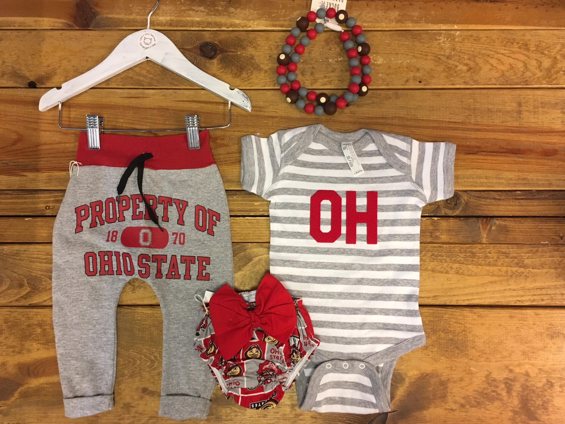 Baby OH-IO Style Ohio Onsies