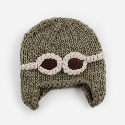 Aviator Knit Hat