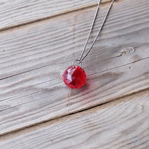 Glass Globe Necklace