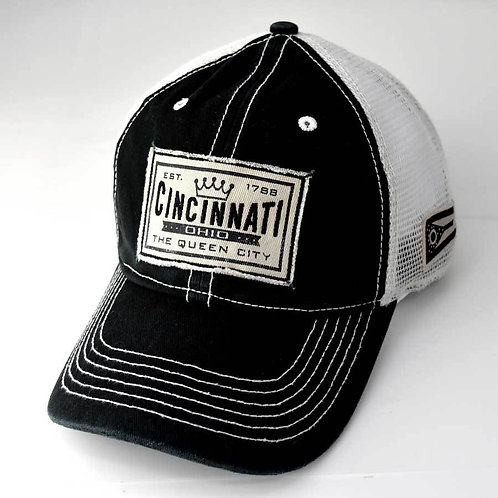 Cincinnati Queen City Trucker Hat