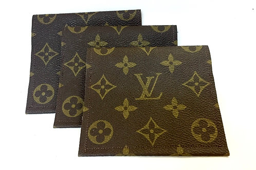 Upcycled Louis Vuitton 2-pocket Wallet