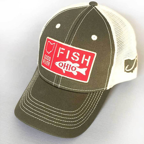 Fish Patch Trucker Hat