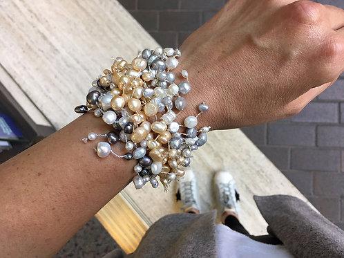 Handmade Cultured Pearl Bracelets
