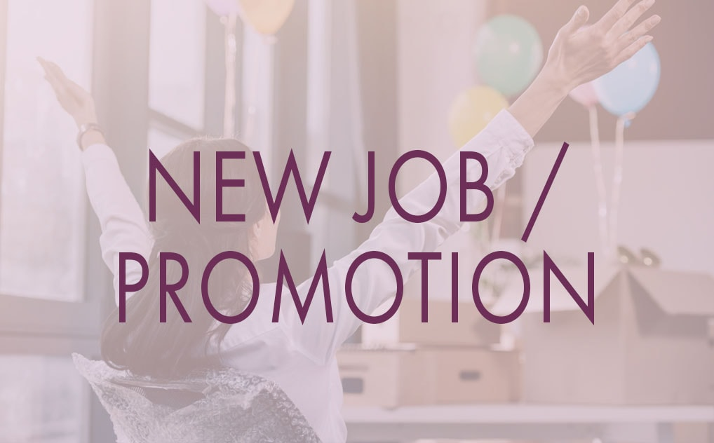 Send a NEWJOB or PROMOTION E-Singing Telegram