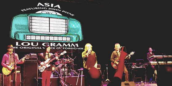 Asia featuring John Payne (Jamie Hosmer on keys)